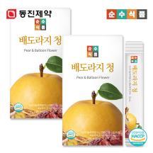 순수식품 배도라지청 스틱 2박스(60포)
