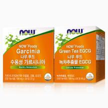 수용성 가르시니아 120정 (30일분) + 녹차추출물 EGCG 90정(30일분)