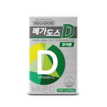 메가도스D 츄어블 1,000mg 90정 (3개월분)